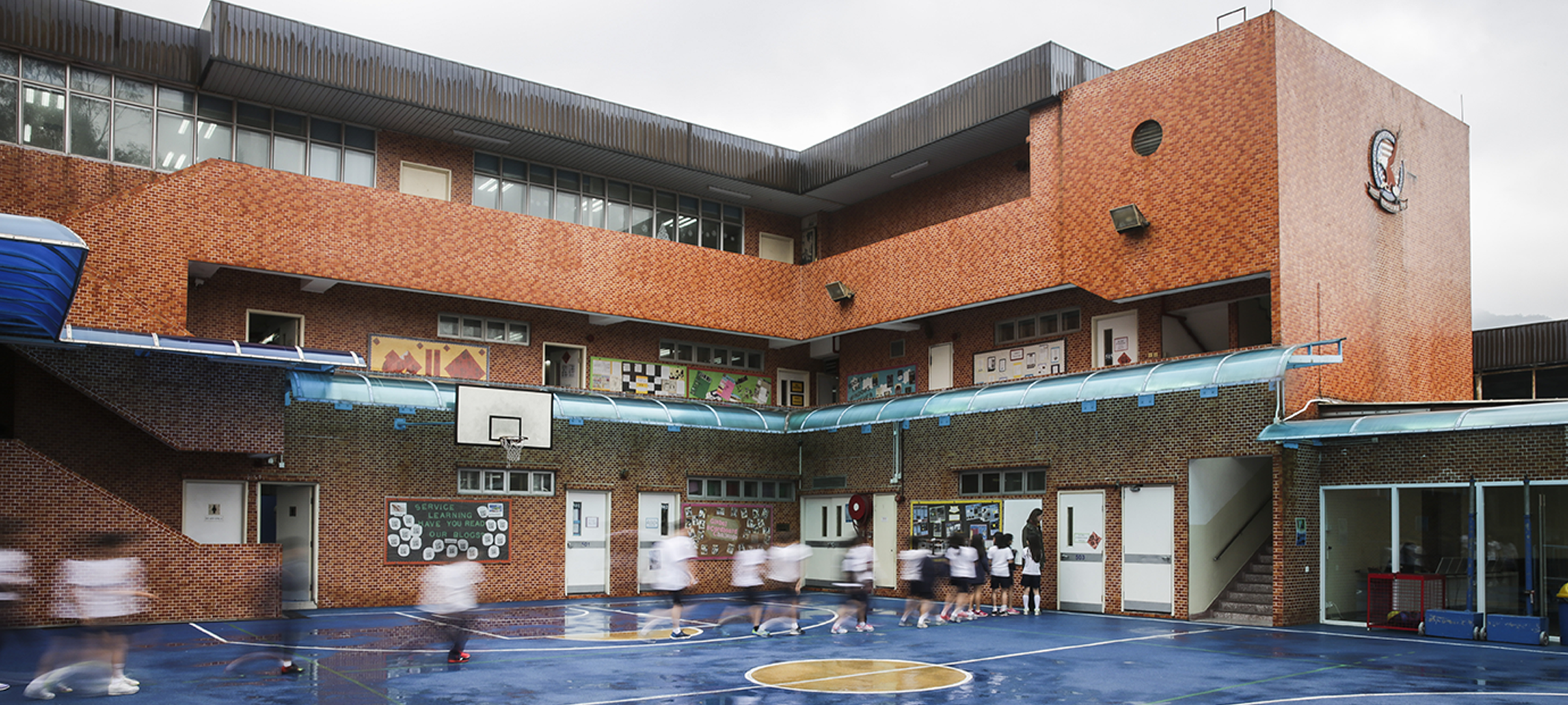 American International School Hong Kong. Photo: AFP Isaac Lawrence.