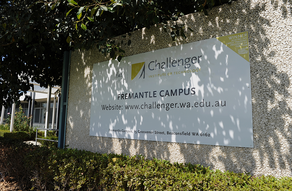 The Challenger Institute of Technology. Photo: AFP Greg Wood.