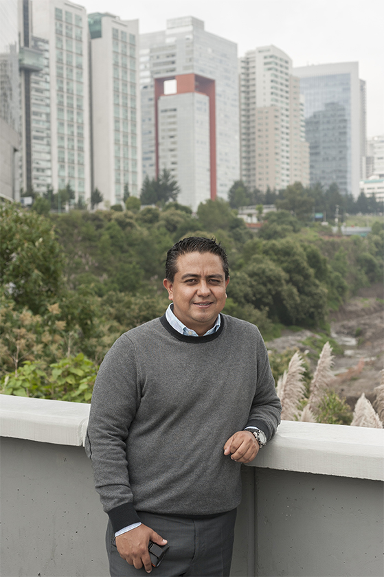 Jesús Deloya, Director of Development and Innovation for Aliat Universidades is photographed at corporate headquarters in Mexico City on August 29, 2016.