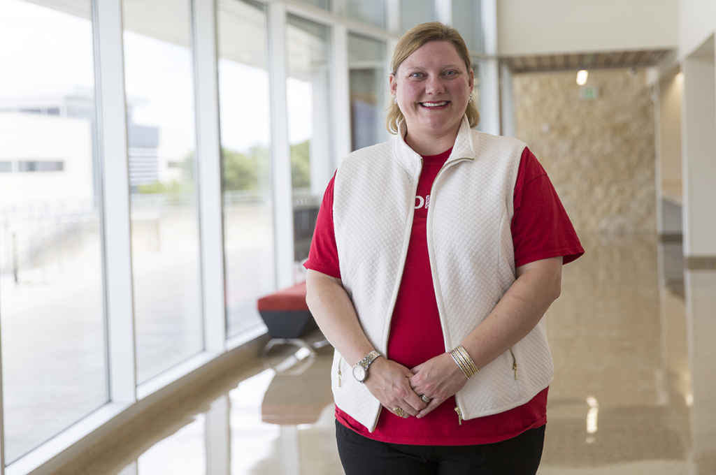 Ashley Nelson, Professional Learning Coordinator at Frisco ISD Administration. Photo: AFP Laura Buckman.