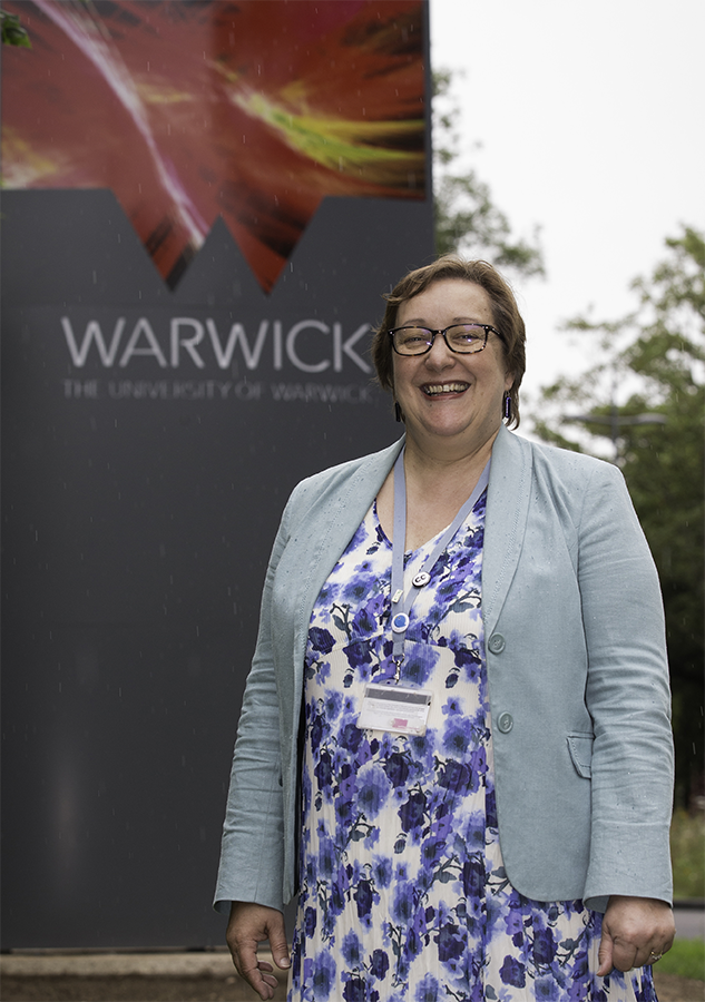 Teresa McKinnon, Principal Teaching Fellow at Language Centre, University of Warwick. Photo: AFP Lindsey Parnaby.