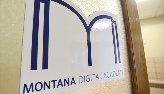 Montana Digital Academy. Foto: AFP Tommy Martino.