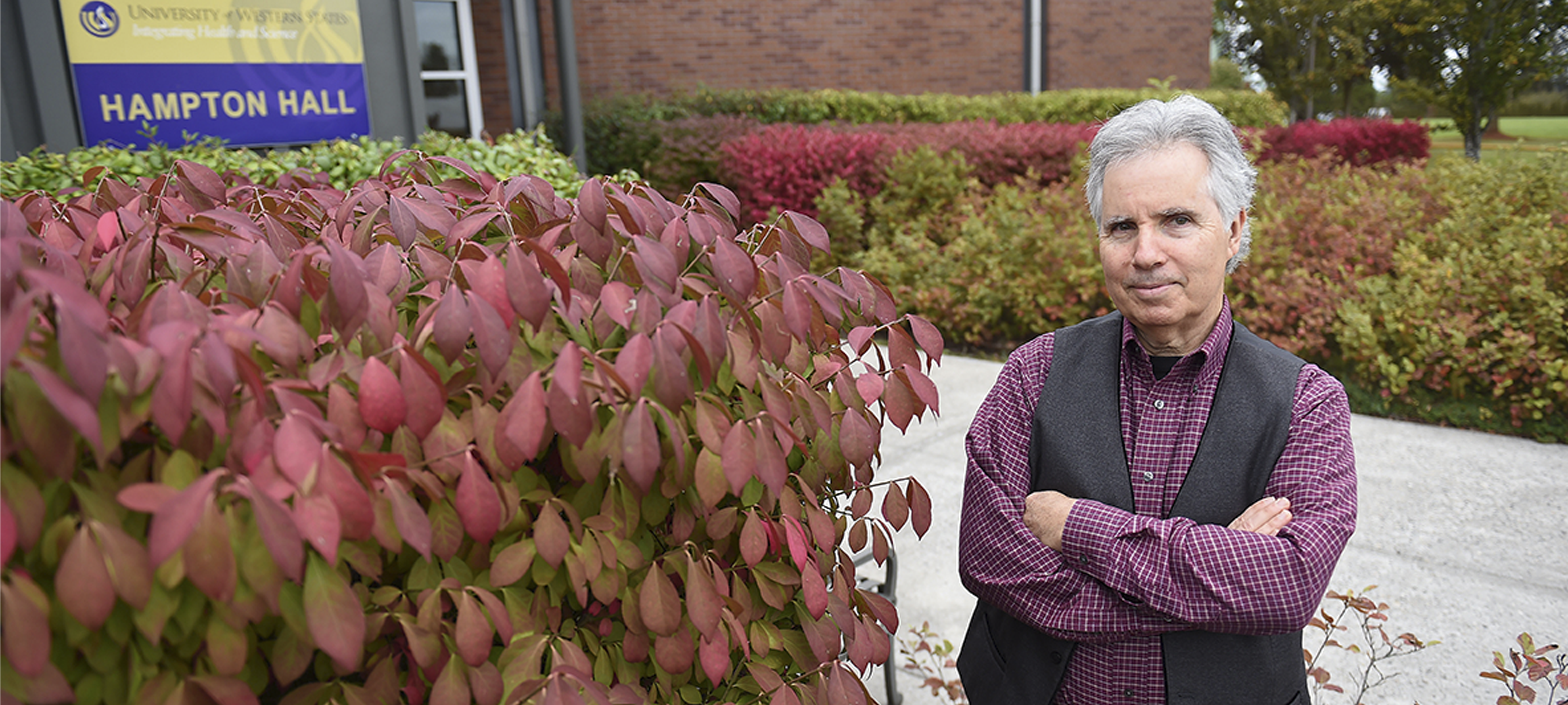 Jim Friscia, Director Academic Support and Training, University of Western States. Photo: AFP Steve Dykes.