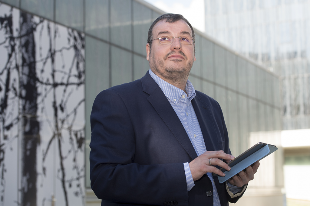 José Omedes, Co-founder & Research and Development Director at IADLearning. Photo: AFP Curto de la Torre.