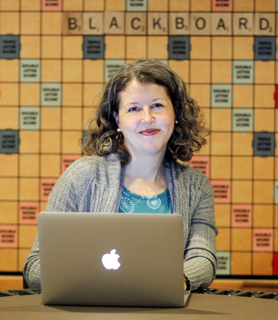 Anneke Bates, Senior Product Manager for Blackboard Collaborate. Photo: AFP Tami Chappell.