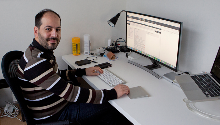 Marco D'Alessio, Learning Architect at Laureate International Universities. Photo: AFP Jan-Joseph Stok.