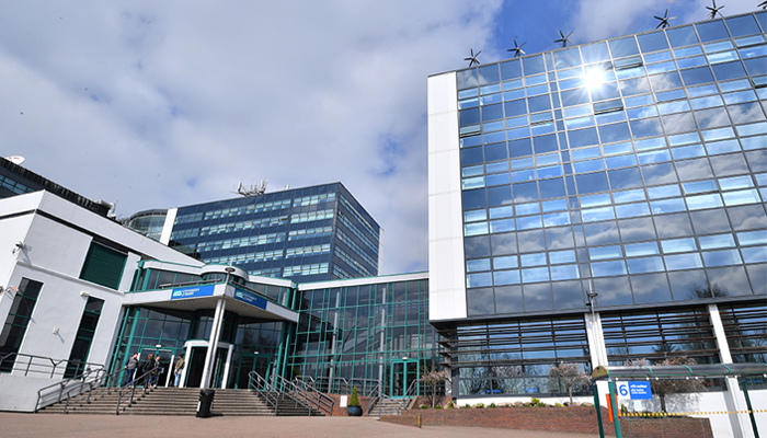 The University of Derby. Photo: AFP Anthony Devlin.