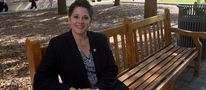 Photo of Philys Zimmerman, Instructional Designer Technology and Distance Education, Texas A&M International University.