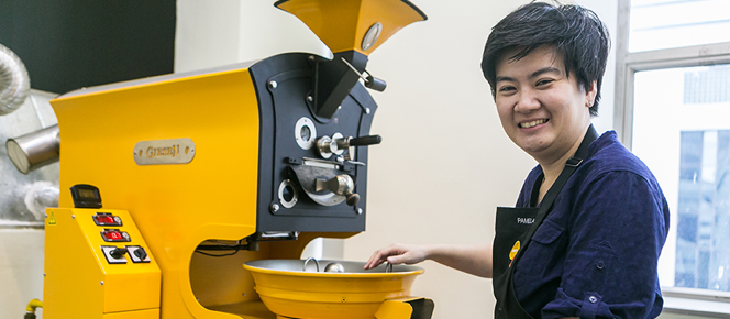 Photo Pamela Chng, Founder of Bttr Barista