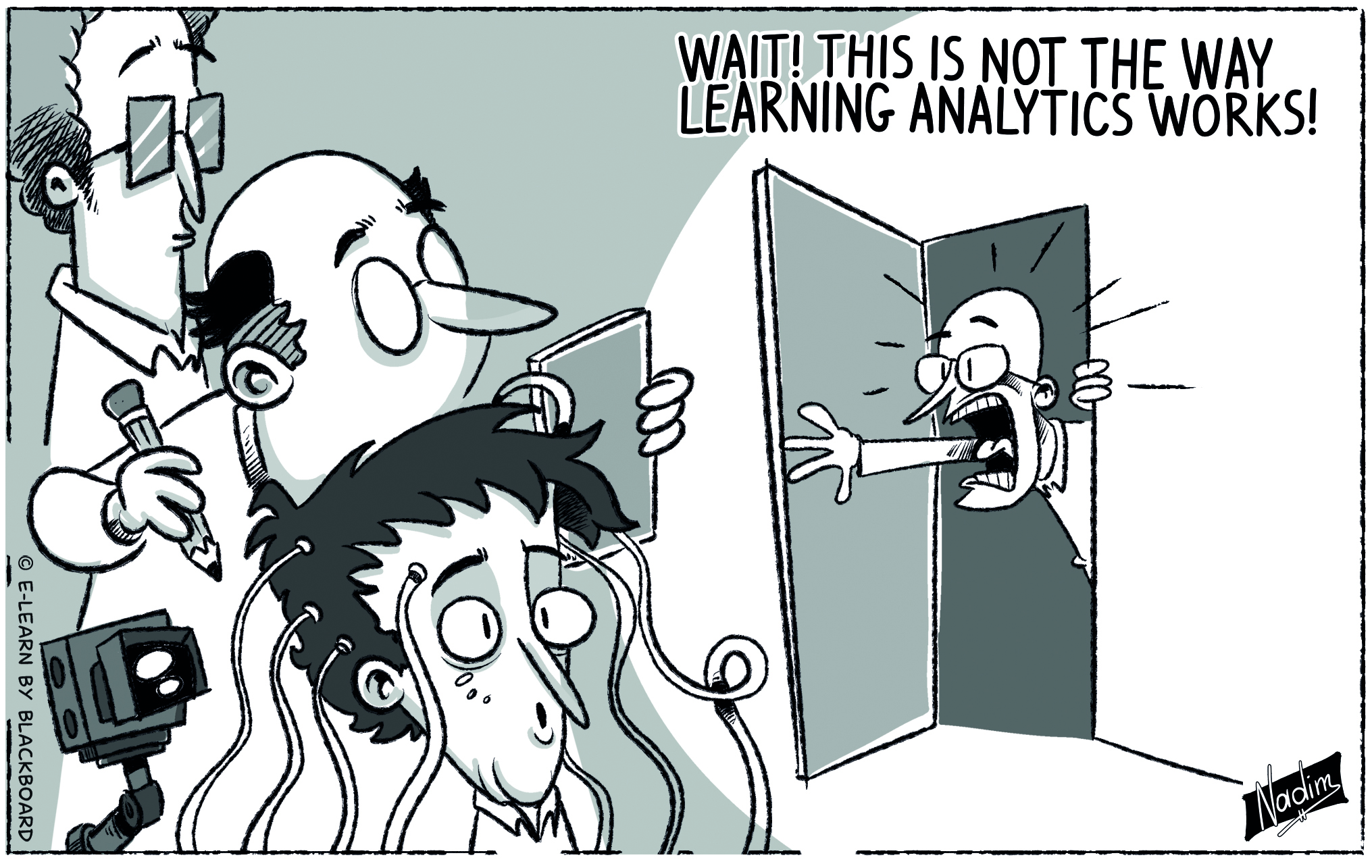 Cartoon Learning Analytics